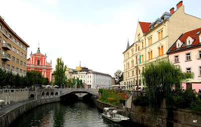 Ljubljana Slovenia Capital City Architecture Europe Culture Travel