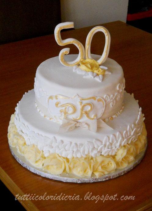Cake Per 50 Anni Di Matrimonio