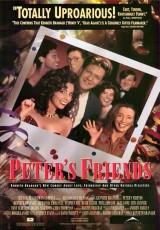 """Carátula del DVD: """"Los amigos de Peter"""""""