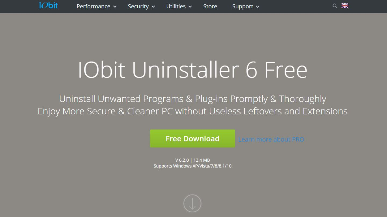 لحذف و إزالة البرامج من جذورهـآ IObit Uninstaller Pro