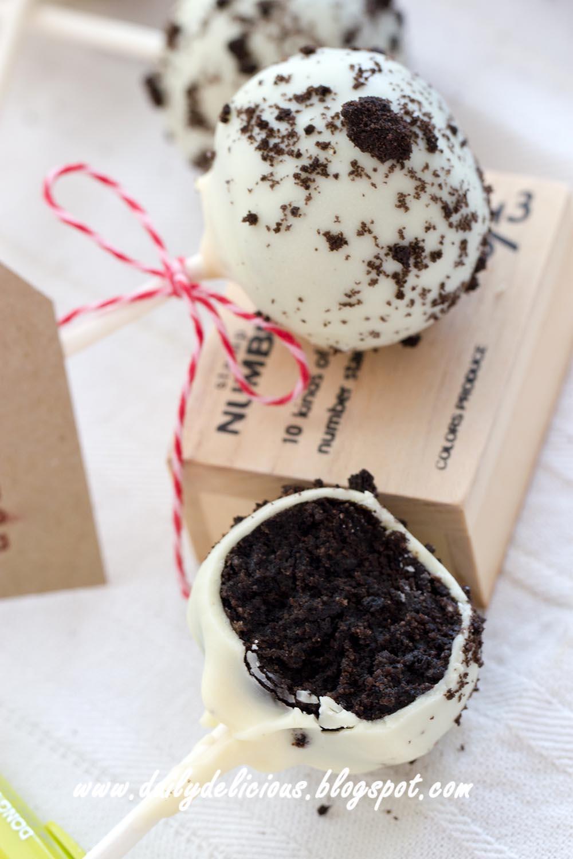 dailydelicious: No bake sweet: Oreo Pops