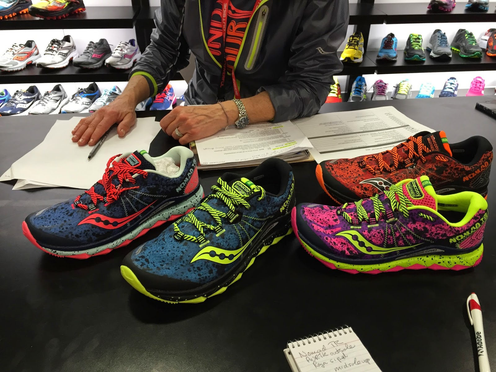 Road Trail Run  Outdoor Retailer W15  New Saucony Nomad TR 26f6fb712