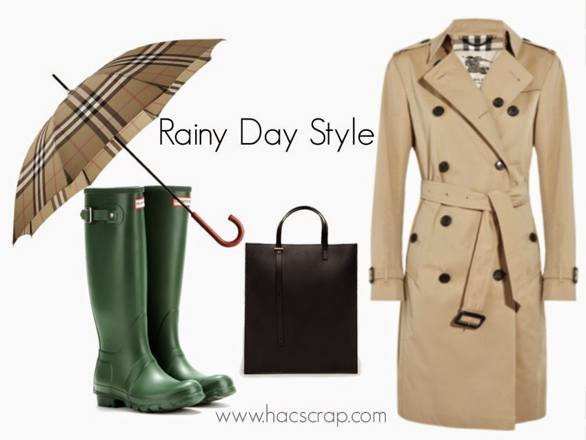 Mid-Life Mom Style for Rainy Days | Classic Pieces