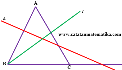 Dalil-Teorema Menelaus