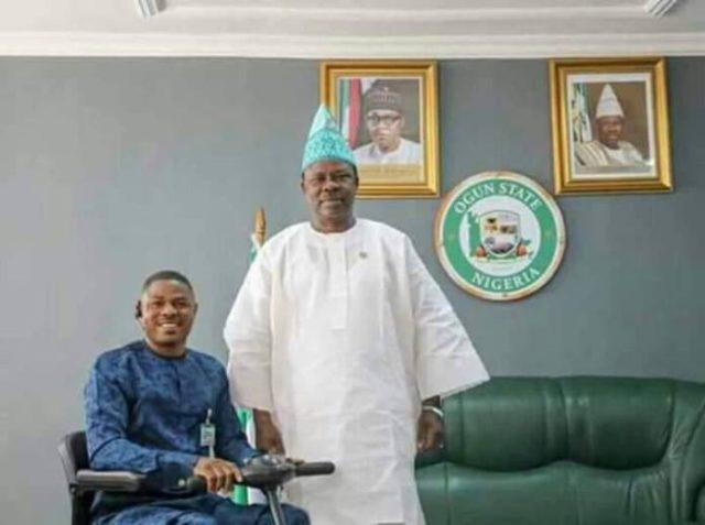 Yinka Ayefele Meets With Ogun State Governor Amosun To Relocate Fresh FM to Abeokuta