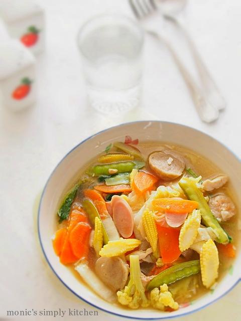 Cara Masak Capcay Goreng : masak, capcay, goreng, Capcay, Monic's, Simply, Kitchen