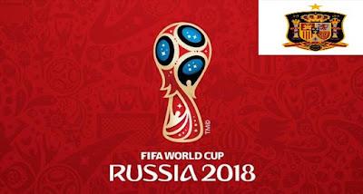 Senarai Penuh Pemain Spain Piala Dunia 2018
