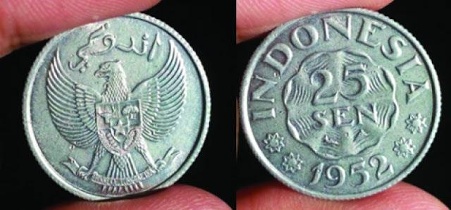 Sejarah Huruf Arab Dalam Uang Koin Indonesia