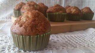 muffins pera jengibre magdalenas deliciosas desayuno merienda postre horno receta verano fruta temporada cuca