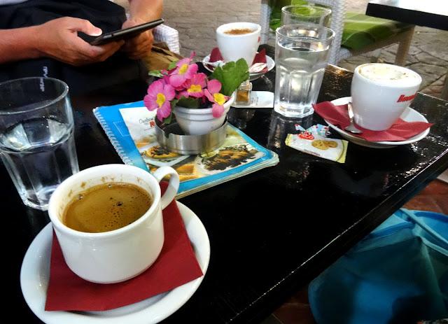 Coffee in Vasiliki