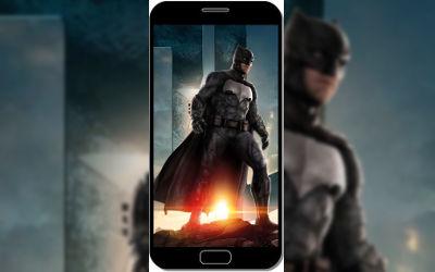 Batman dans Justice League - Fond d'Écran en QHD pour Mobile