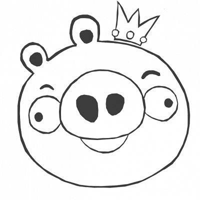 Free angry birds coloring pages for kids ~ Angry Bird Coloring Pages