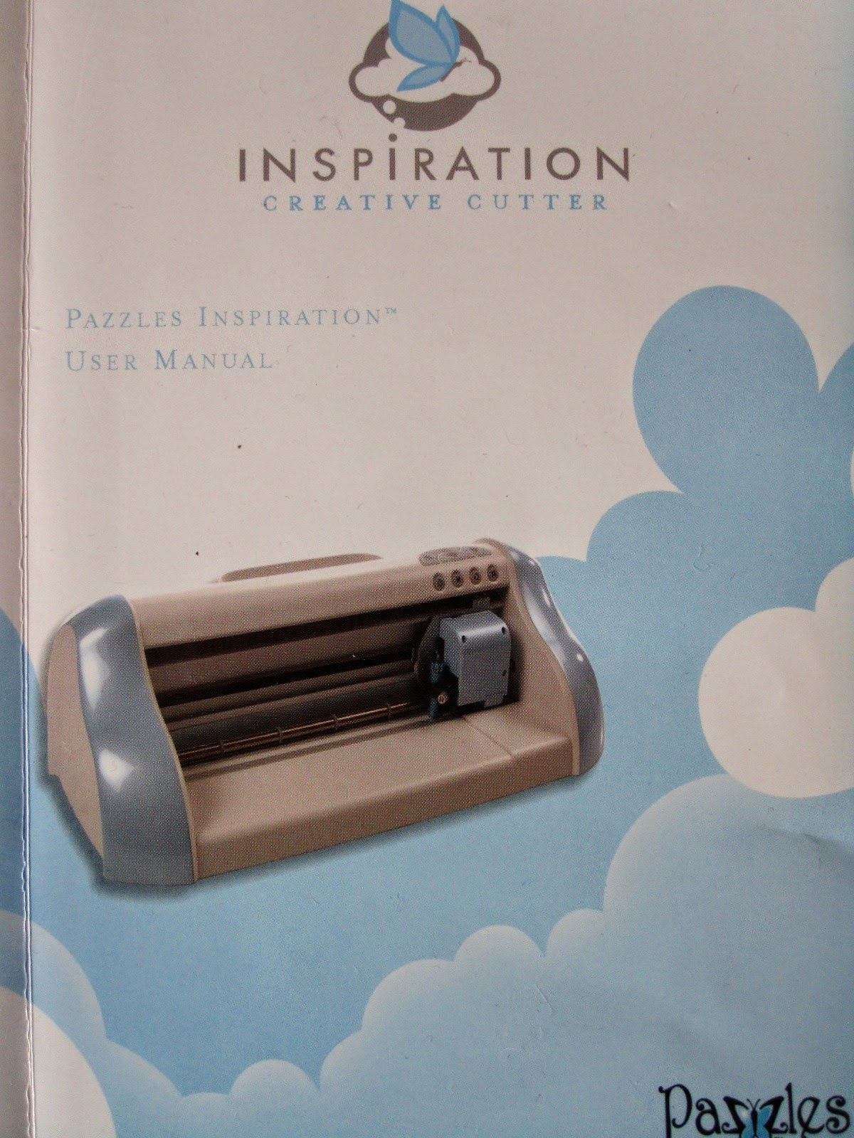 Instruction manual for the Inspiration creative cutter machine.