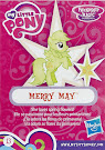 My Little Pony Wave 16 Merry May Blind Bag Card