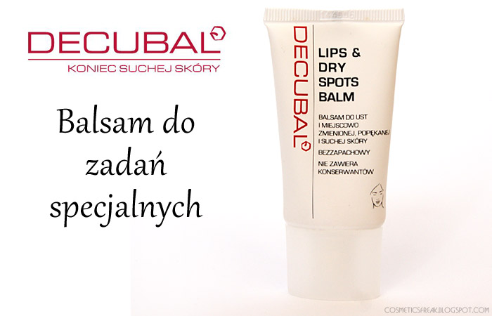 DECUBAL - LIPS & DRY SPOTS BALM - MÓJ HIT!