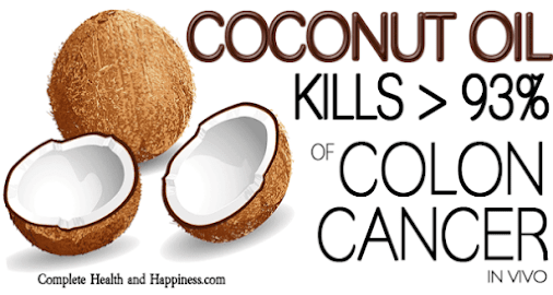 Amazing Discovery: Coconut Oil Cures Colon Cancer  Scientists discovered that lauric acid kills more...