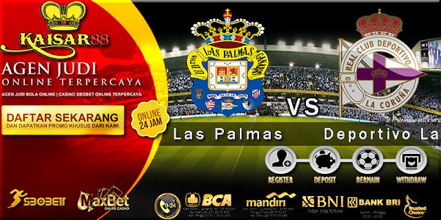 Prediksi Las Palmas vs Deportivo La Coruna 31 Oktober 2017