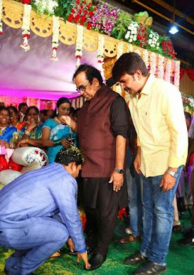 Director Chinni Krishna Wedding