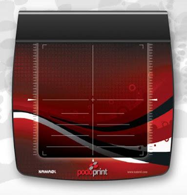 Plataforma de presiones que permite observar mejor la biomecànica de la persona.