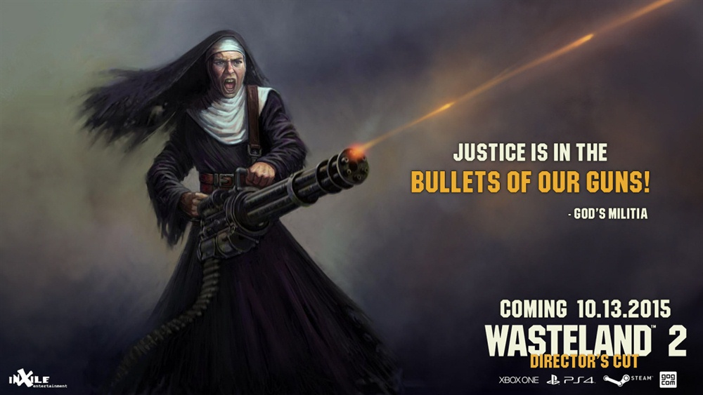 Wasteland 2 Director's Cut Download Poster