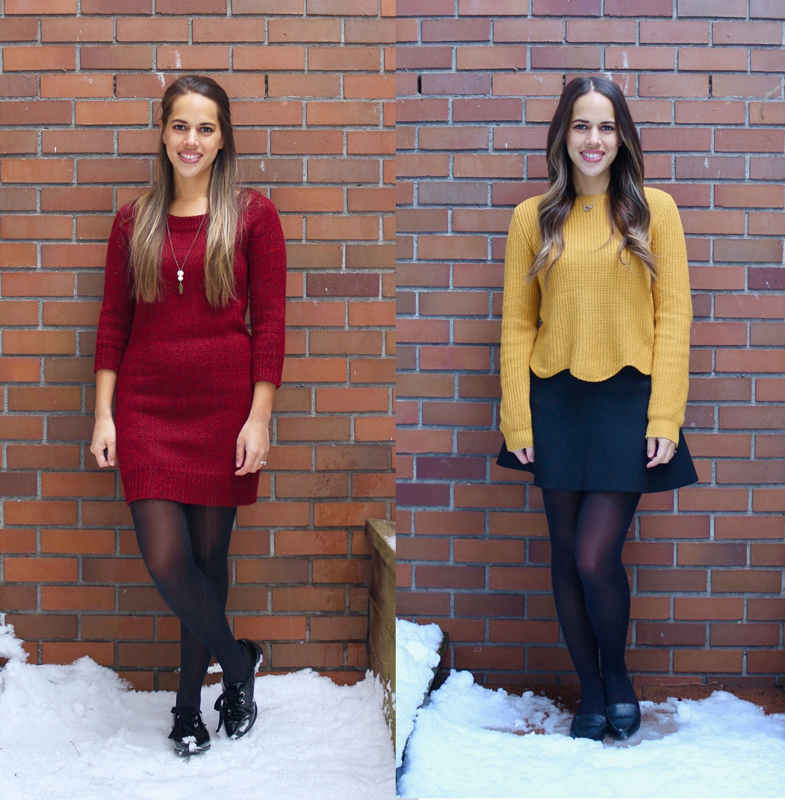 Jules in Flats February Work Outfits (Business Casual Workwear on a Budget)