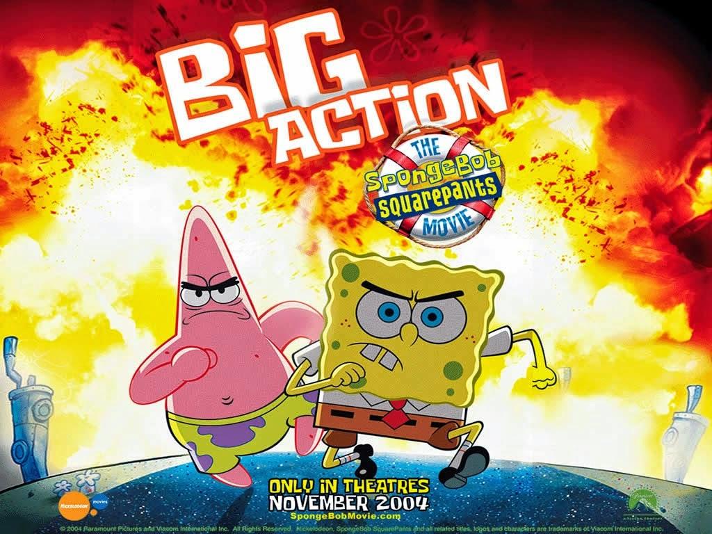 Image - Annoying Orange's Adventures of The SpongeBob ... |Spongebob Movie Poster