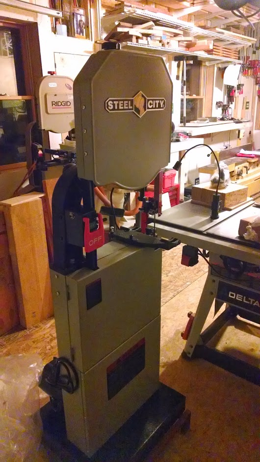 Steel City 50150G Bandsaw Assembly