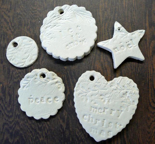 Dream, Create, Inspire: Paper Clay Ornaments