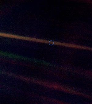The Pale Blue Dot Means You Are Loved