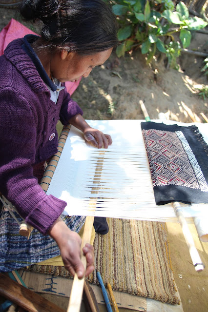 traditional backstrap weaving