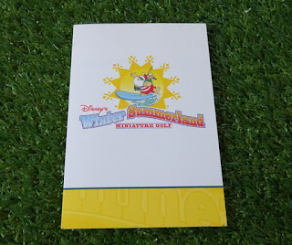 Disney's Winter Summerland Miniature Golf. Scorecard from Shelley Barrett