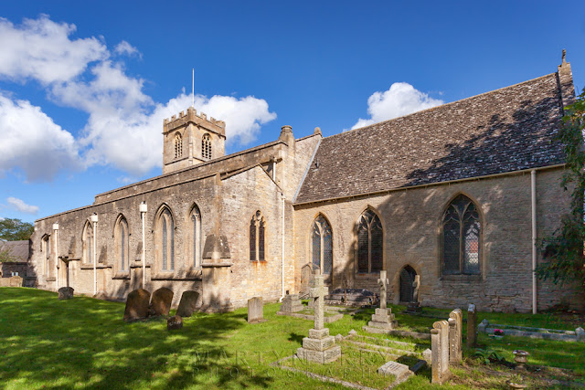 The Eynsham church of St Leonard's in the Oxfordshire Cotswolds by Martyn Ferry Photography