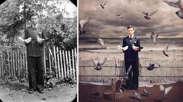 Asli Tapi Beda, 16 Foto Jaman Dulu yang Kini Berubah Menjadi Foto Menakjubkan