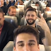 Video showing Brazilian footballers laughing in the plane just before their flight took off