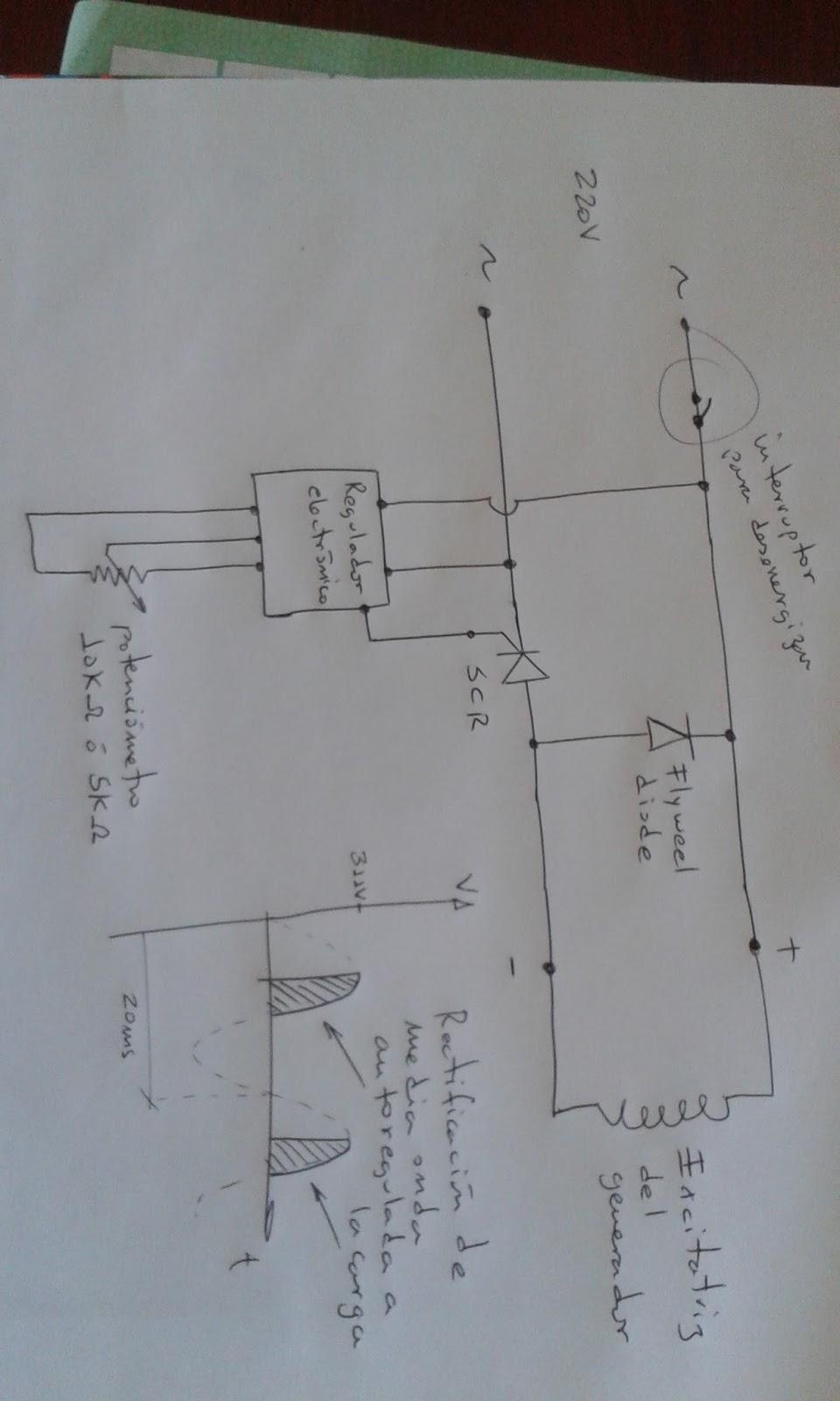 Circuito Regulador De Voltaje : Electronica para maquinaria circuito básico de un