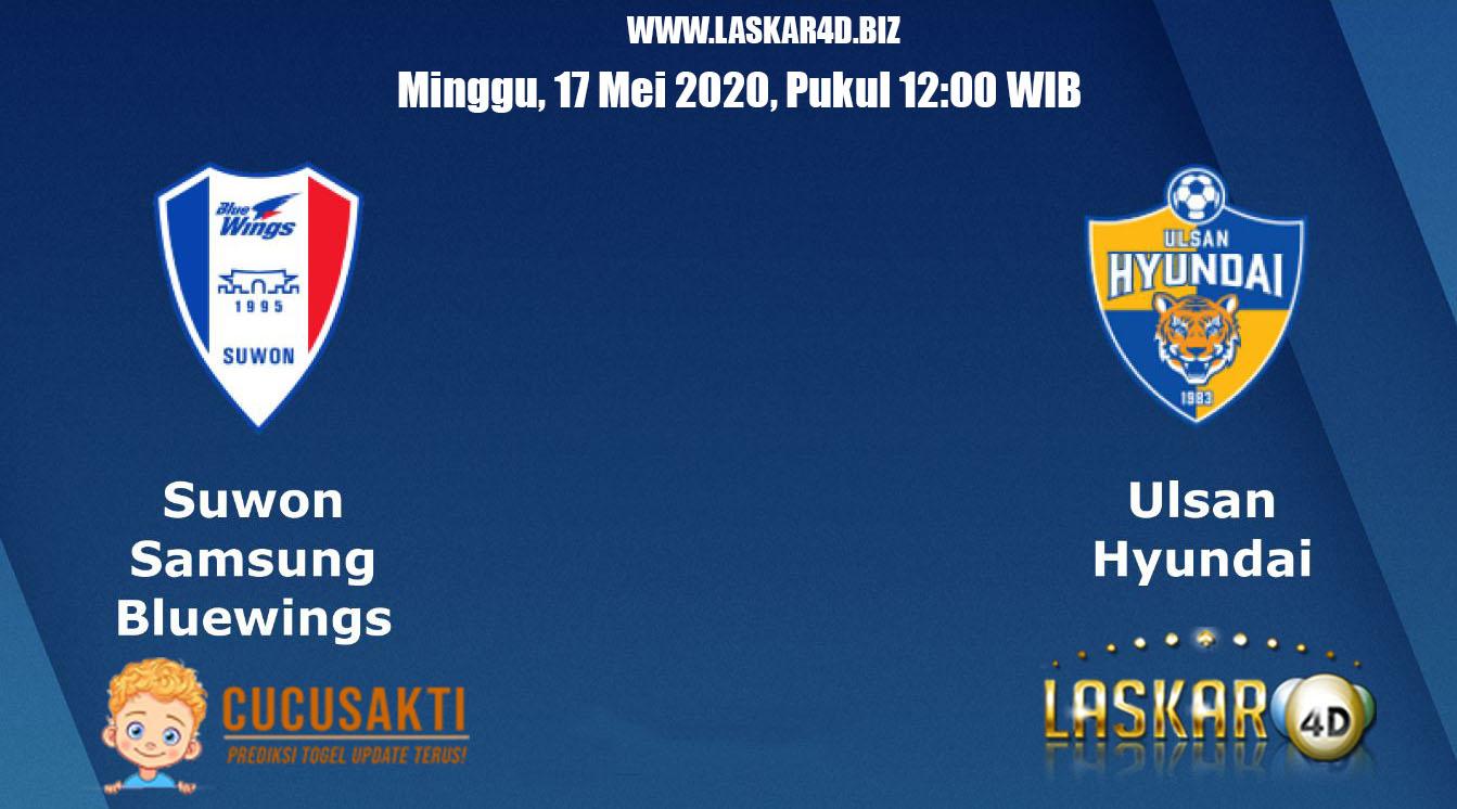 Prediksi Bola Suwon Bluewings vs Ulsan Hyundai 17 Mei 2020