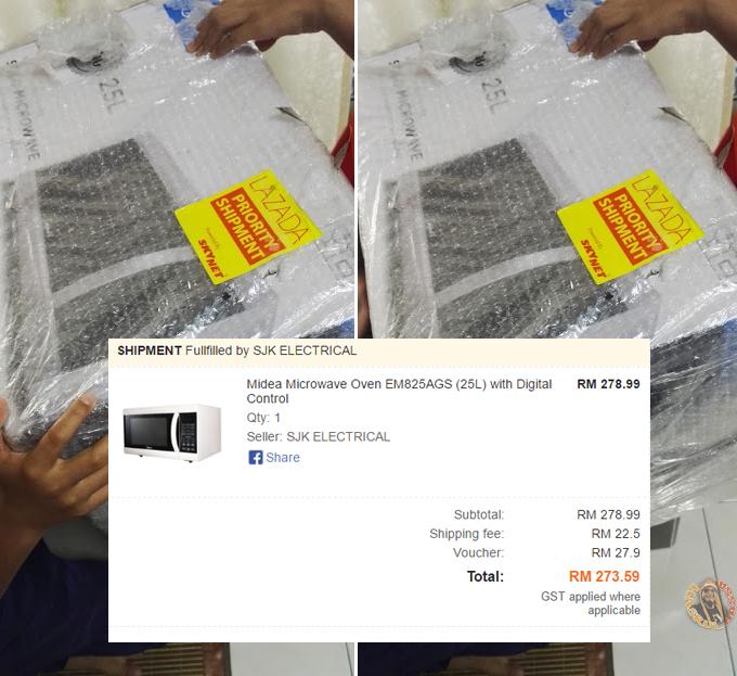 Microwave Midea Beli di Lazada Malaysia