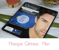 Qiriness men masque hydratant