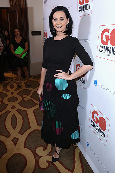 Katy Perry at GO Campaign Gala