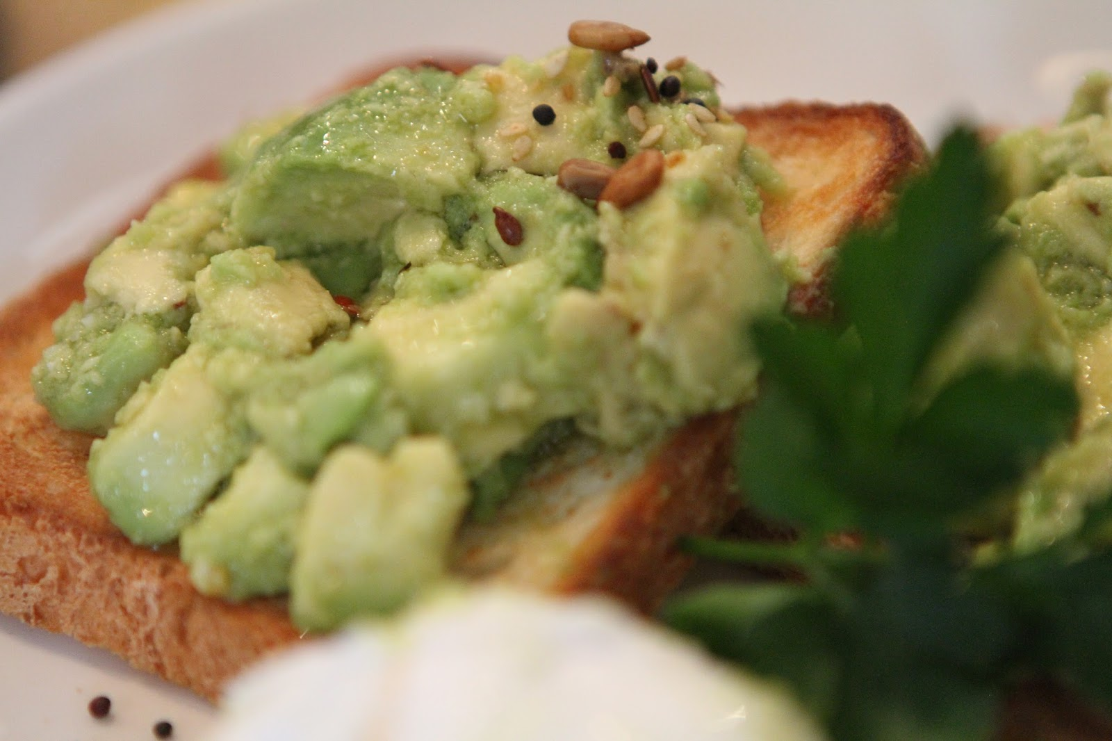 Bills Avocado on toast gluten free