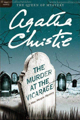 The Murder at the Vicarage by Agatha Christie – book cover