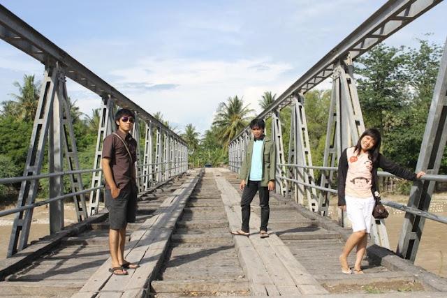 jembatan di perjalanan menuju pantai kolbano TTS