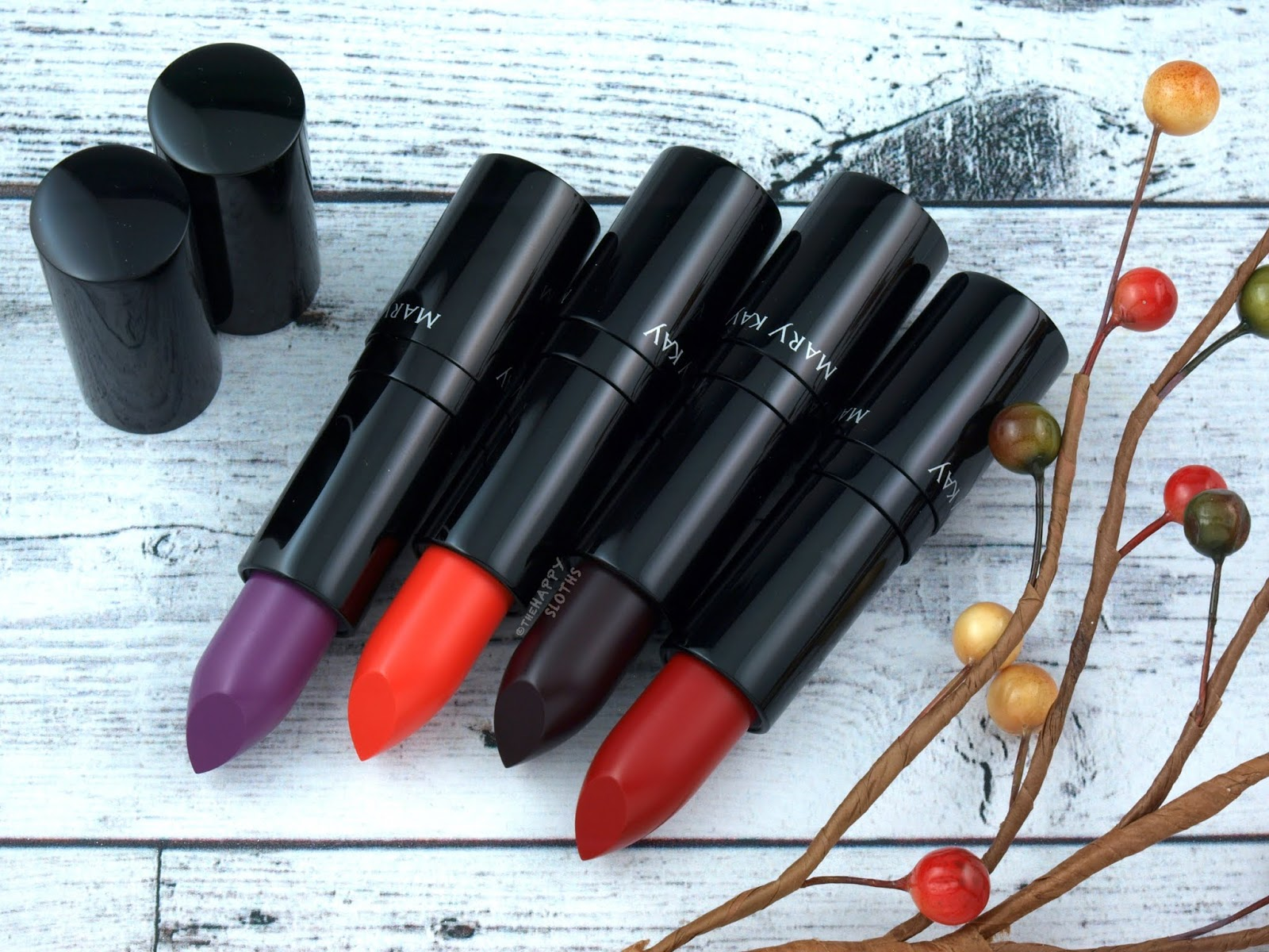 Mary Kay | *NEW SHADES* Fall 2018 Matte Lipsticks: Review and Swatches