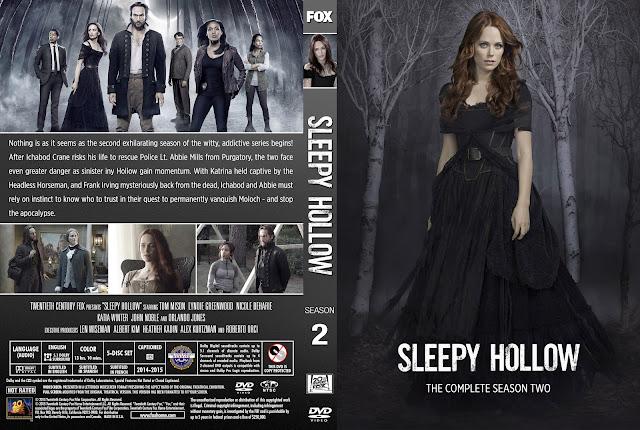 Sleepy Hollow Season 2 DVD Cover