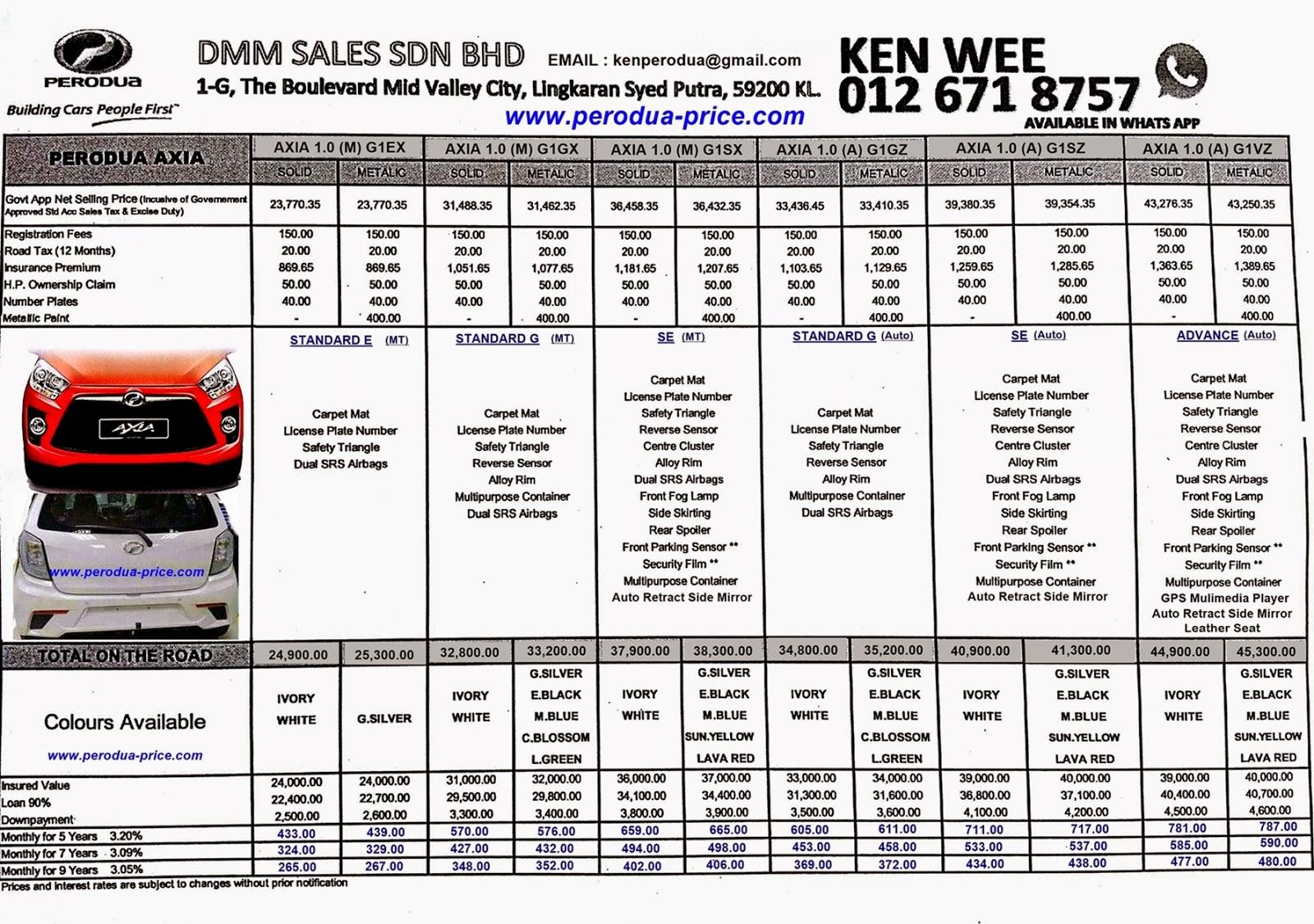 Perodua New Car-Alza 2014 Call 012-671 8757: Perodua New