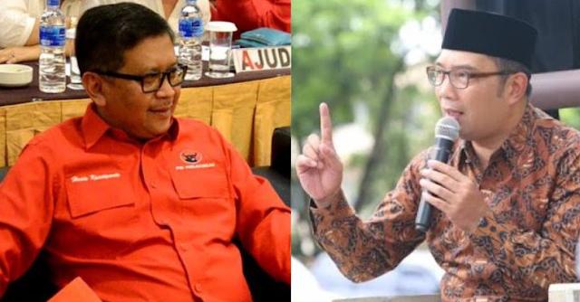 Nah lho! Ridwan Kamil Tantang Sekjen PDIP Berdebat, Apa Apa?