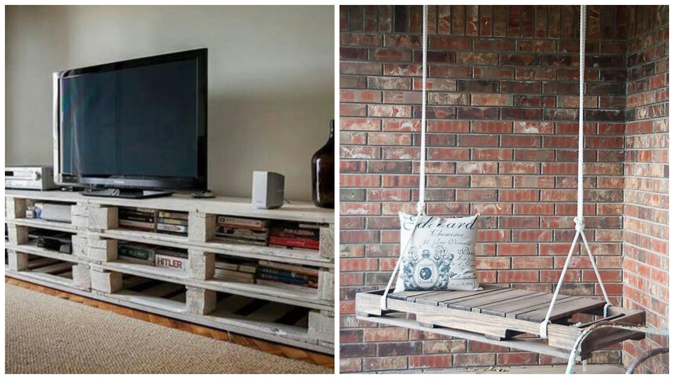 Reciclar cajas y palets decoshabby - Reciclar muebles de cocina ...
