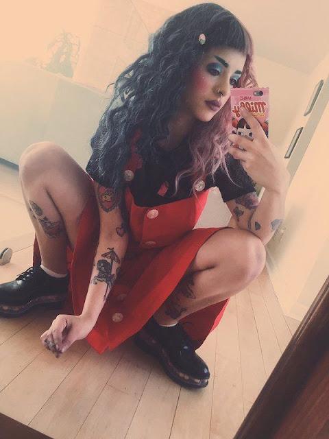 Melanie Martinez topless