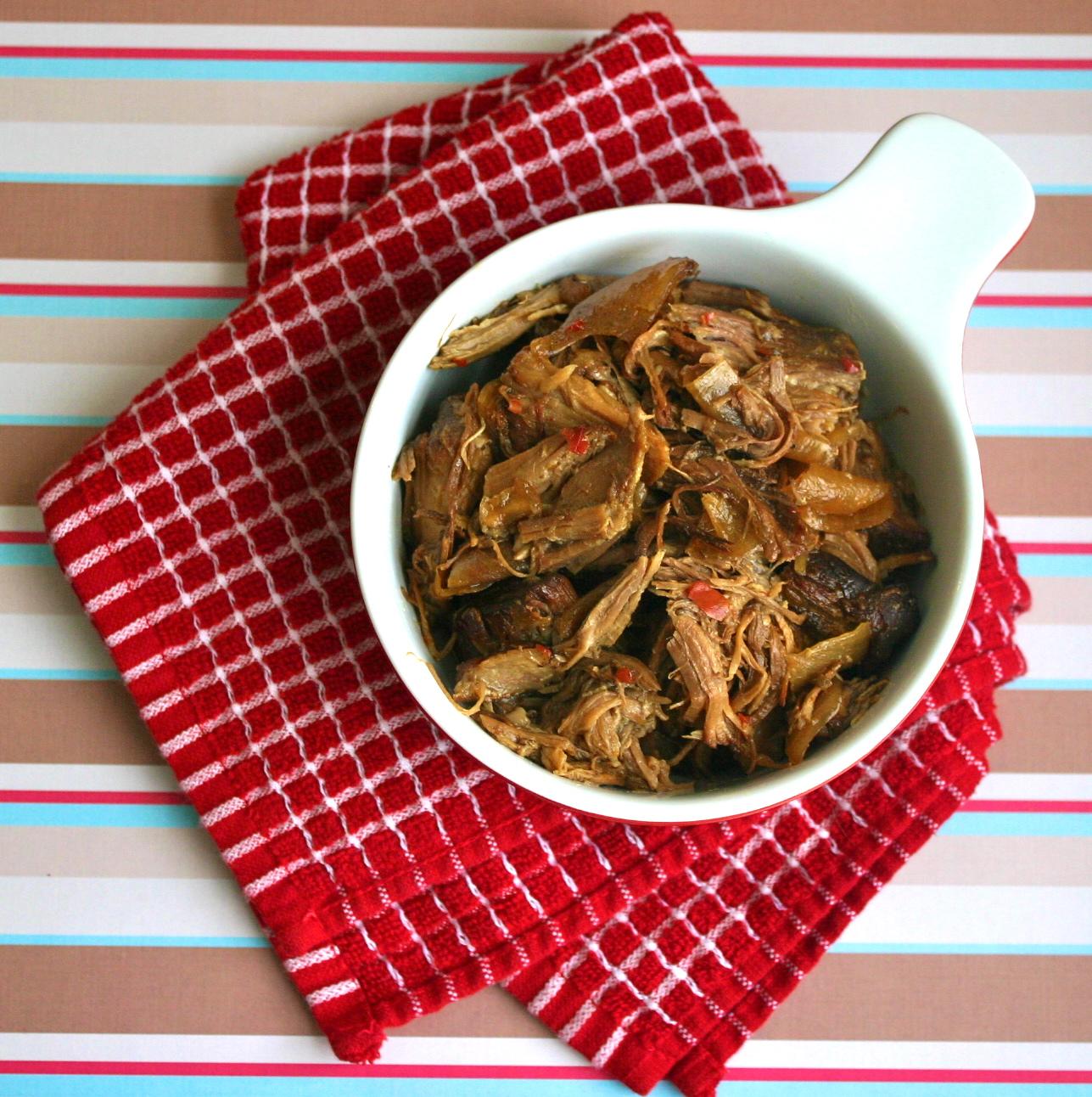 My Retro Kitchen: Hot Pepper Jelly Pork Shoulder in the