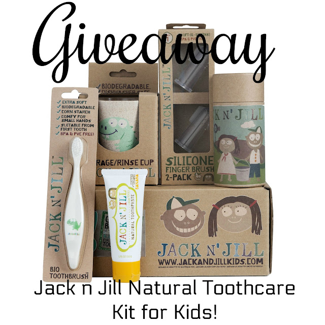 natural toothpaste, organic toothpaste, natural oral care, oral care for kids, safe toothpaste for kids, jackandjill gift kit, win organic goodies